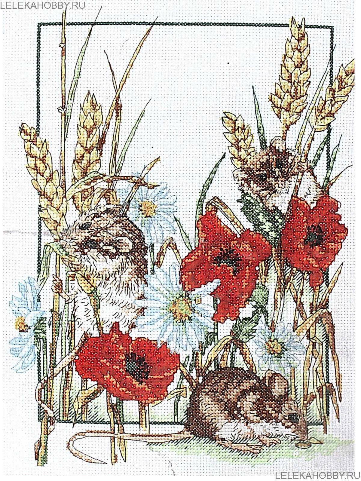 Схема для вышивки крестом anchor