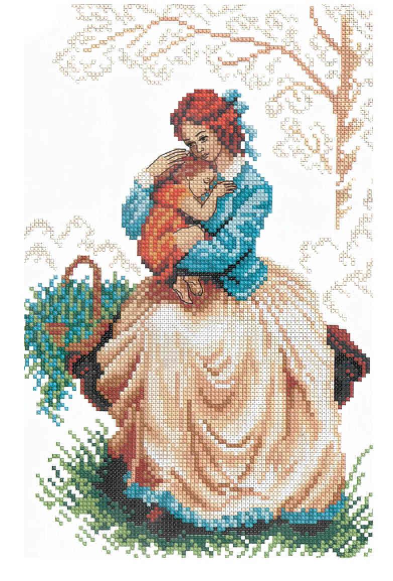 Заказать схему вышивки крестом из фото