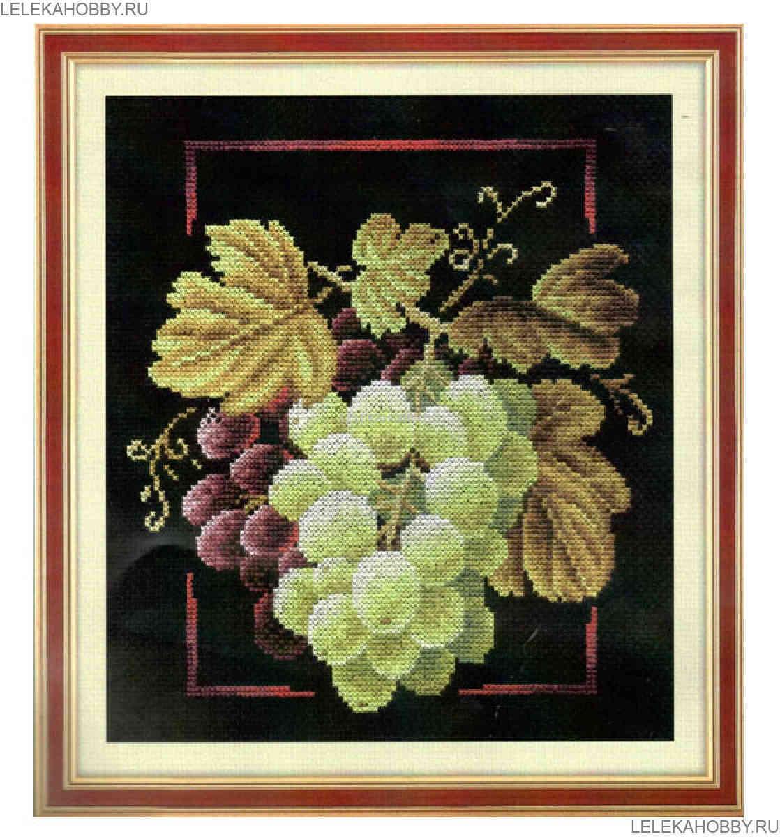 Набор для вышивки крестом виноград 380