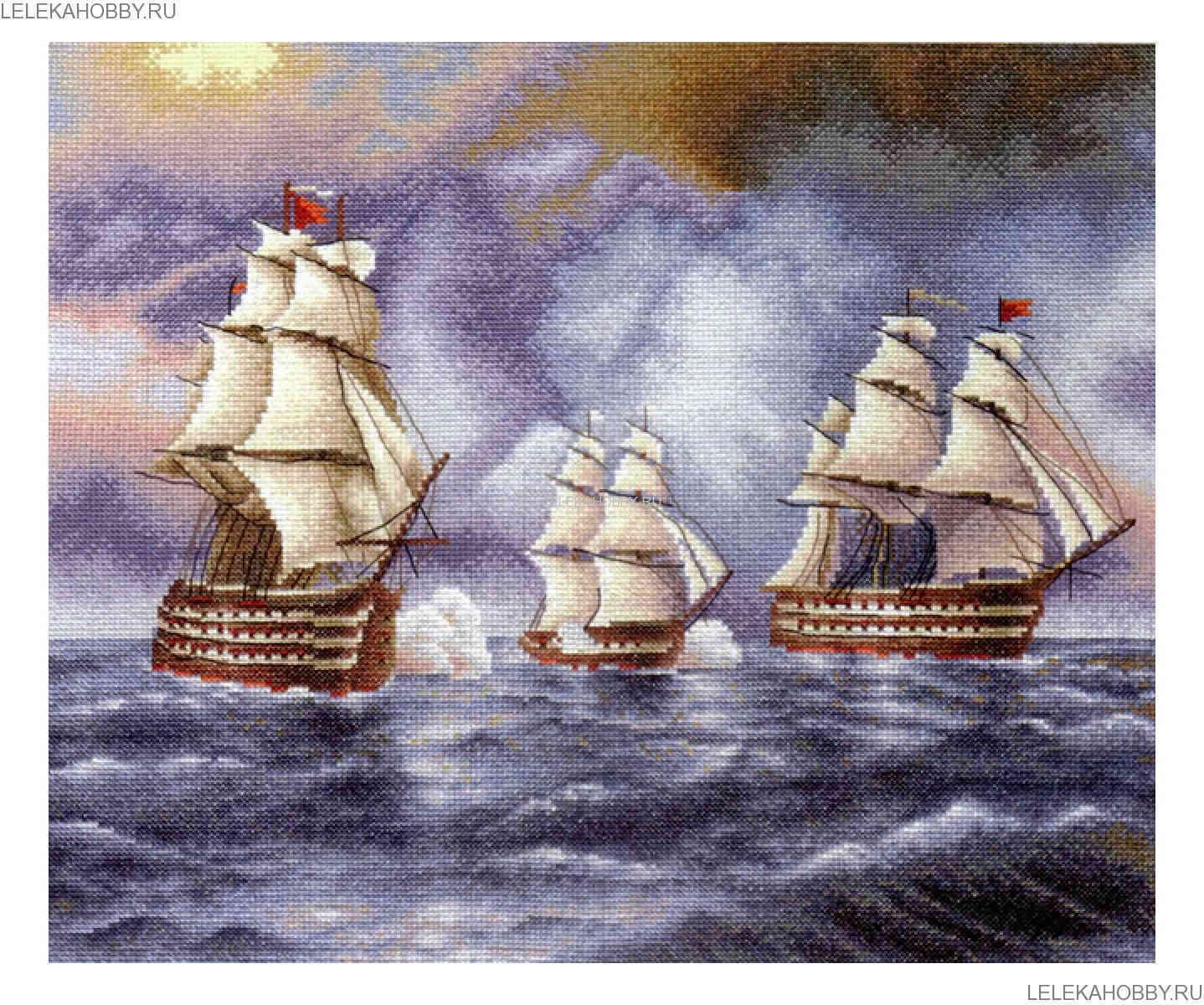 Наборы вышивки крестом морская тематика