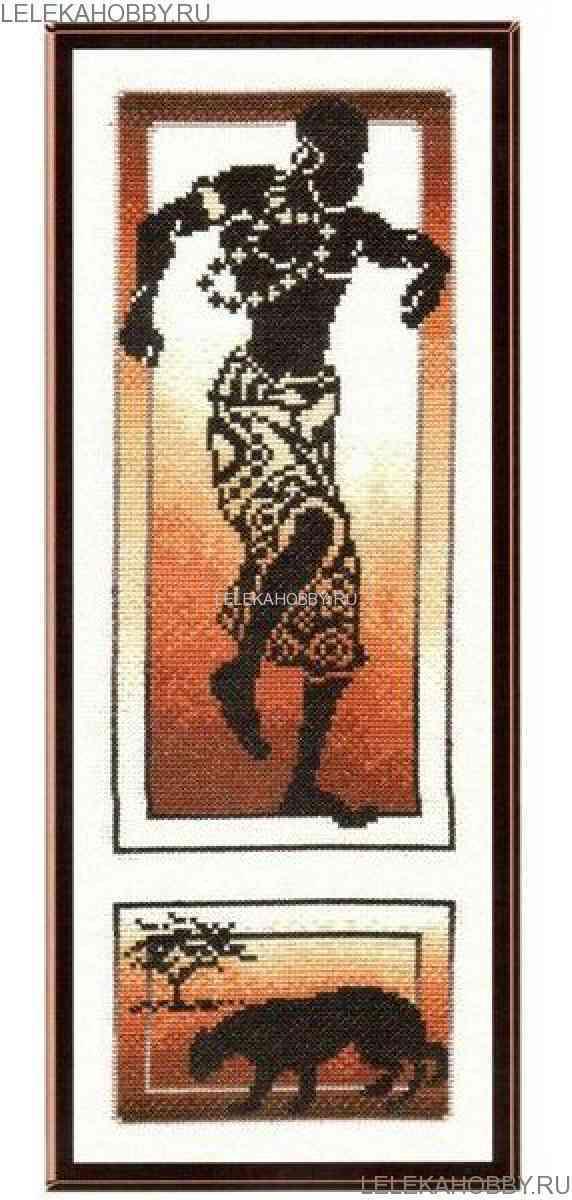 Вышивка крестом африканские истории золотое руно 4