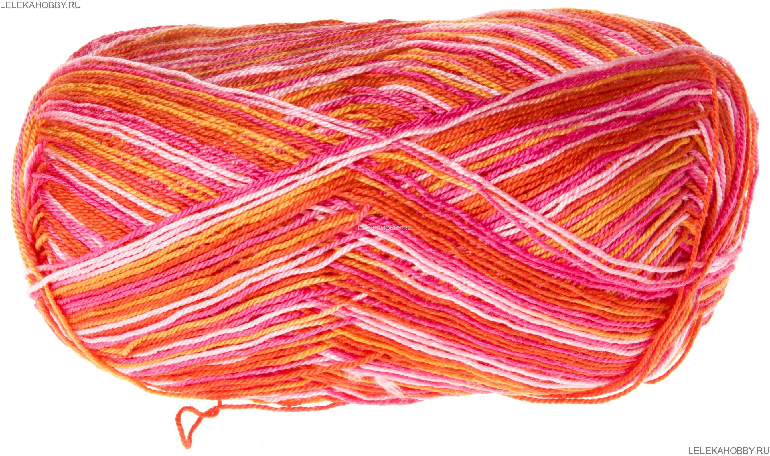 Меланжевая нитка для вязания