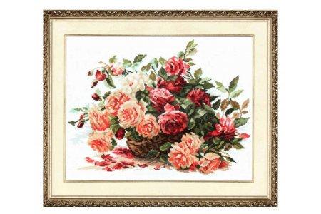 Вышивка цветы. наборы для вышивания