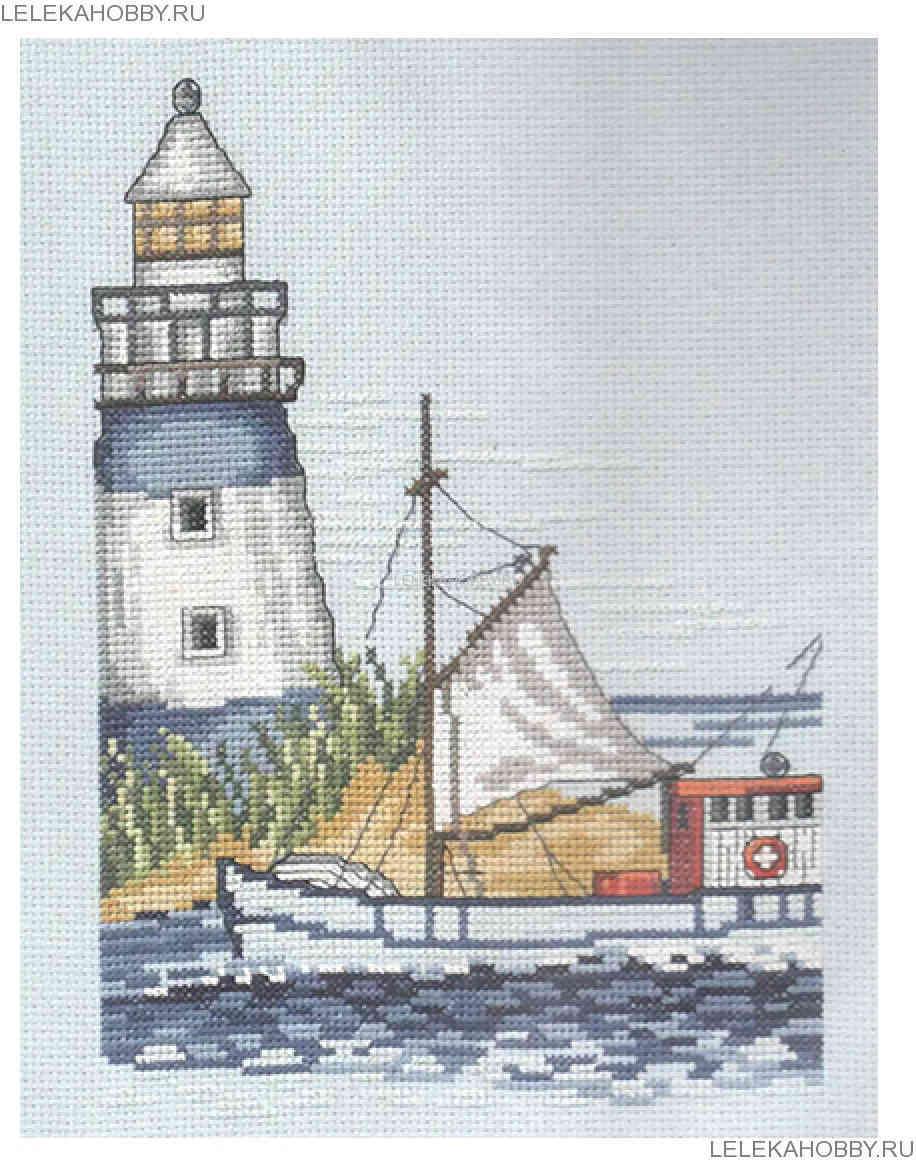Набор вышивка крестом маяков