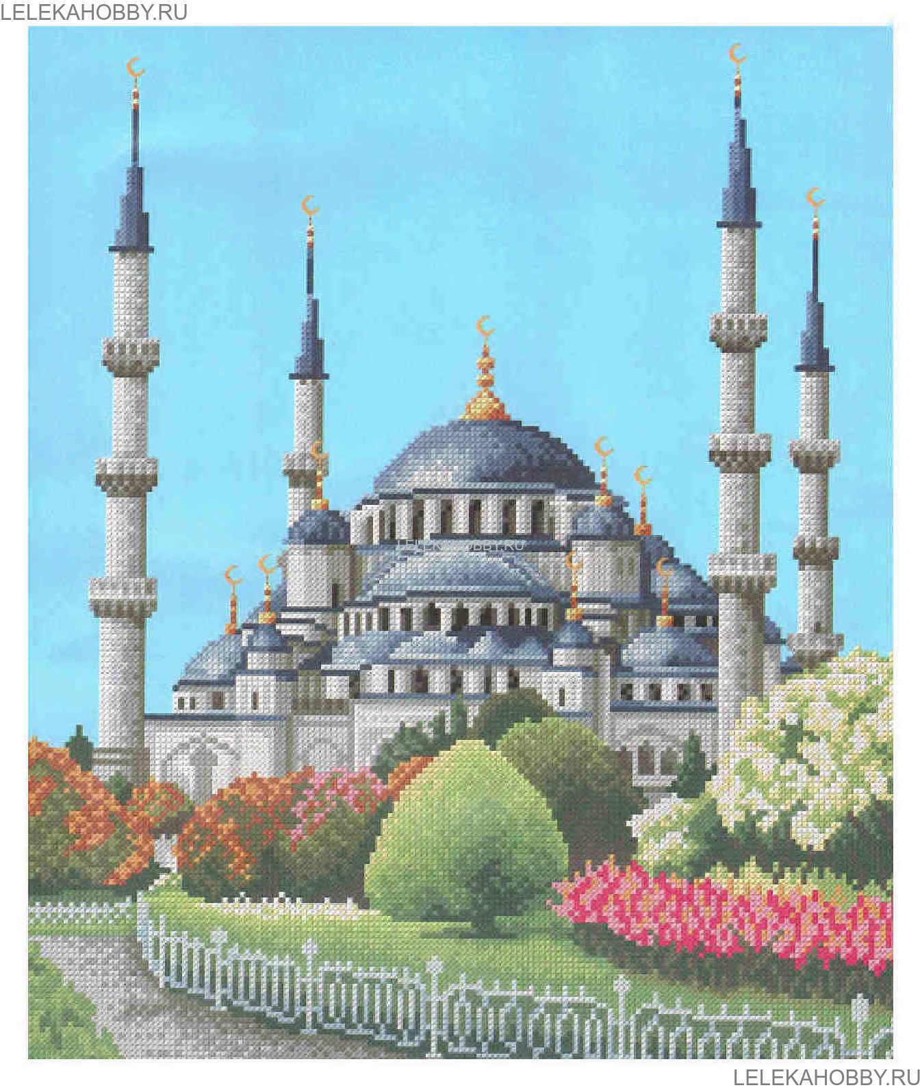 Голубая мечеть Стамбул,
