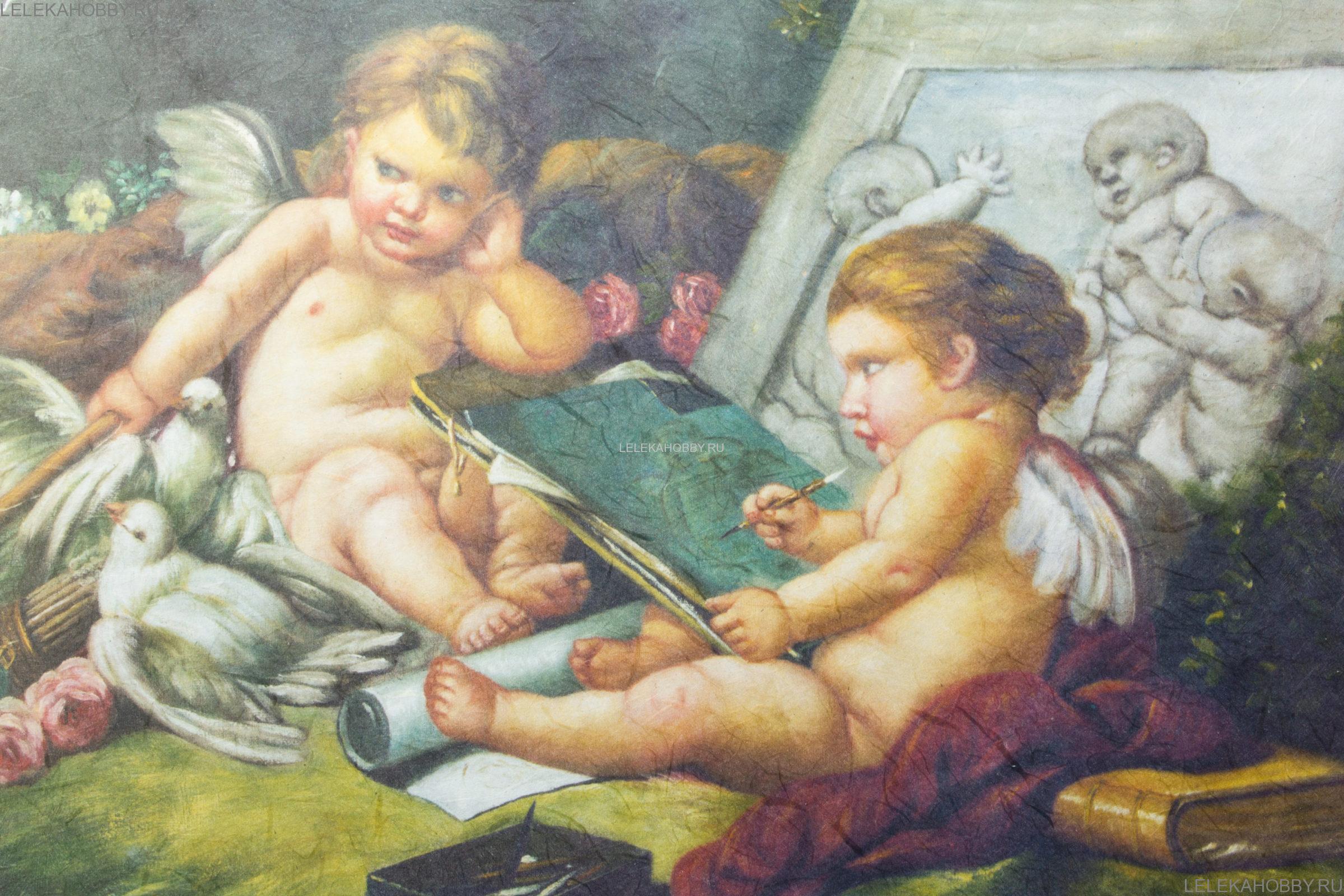 Картинки для декупажа с ангелами 2