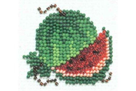 Вышивка бисером арбузик 74
