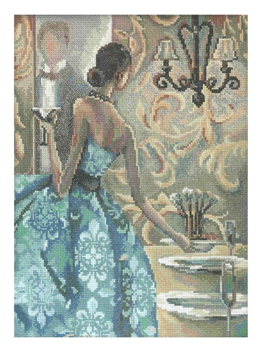 Вышивка крестом триш биддл эффектные женщины в роскошных местах