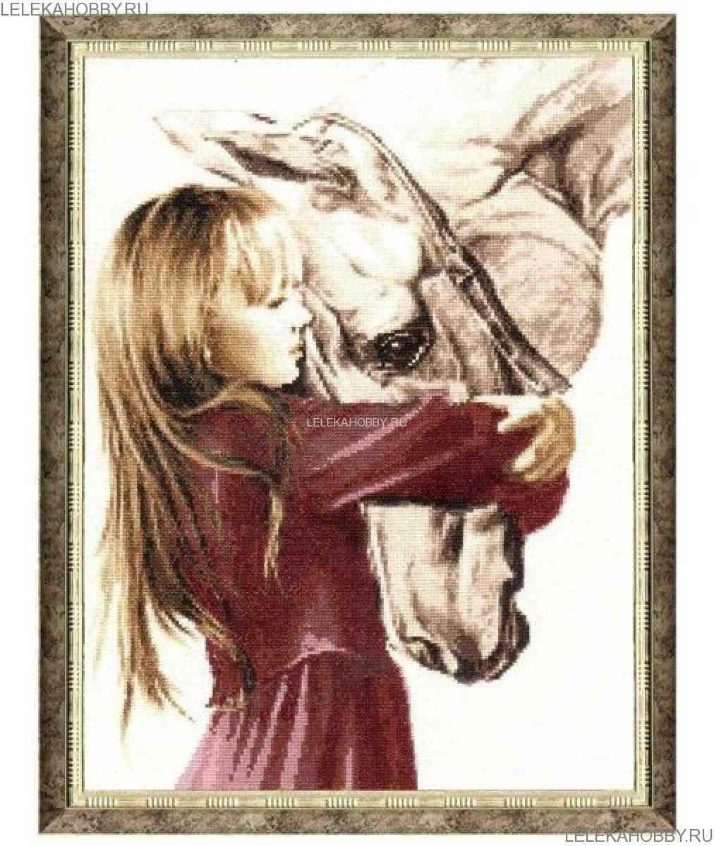 Девочка с лошадью,