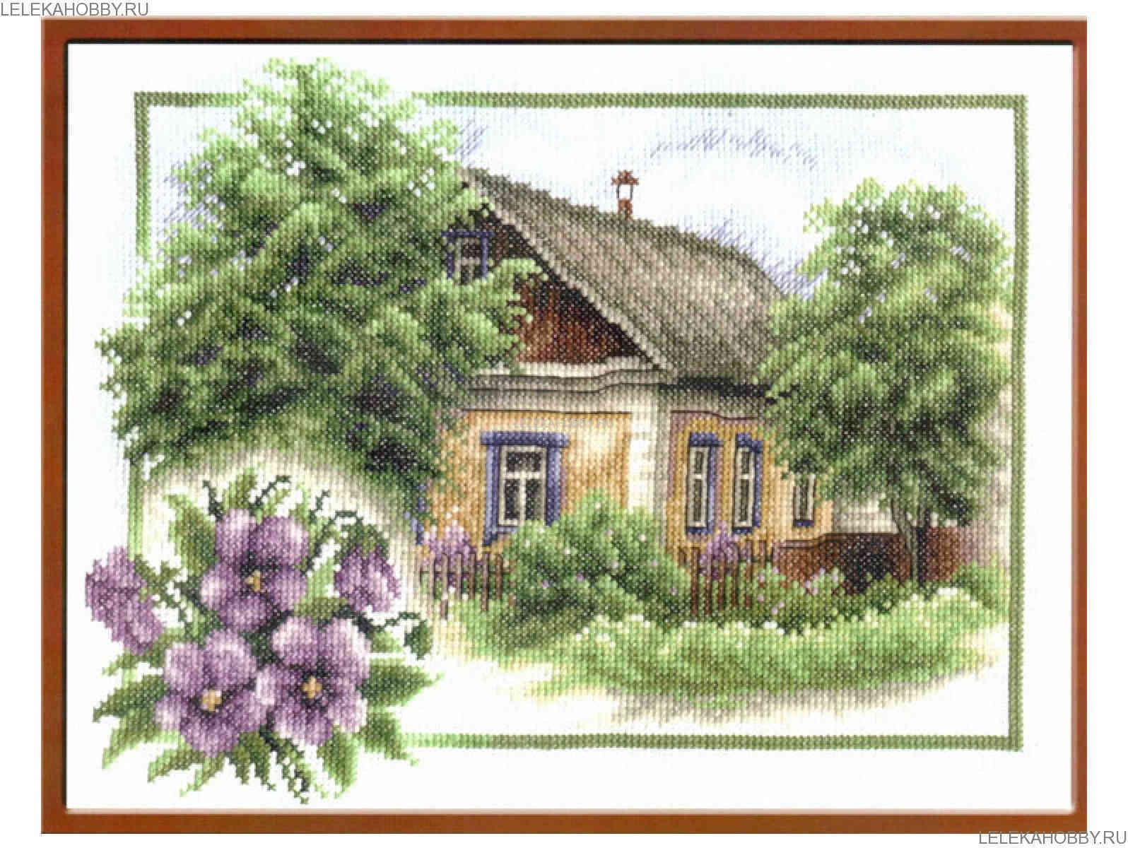 Моя деревня вышивка лето 938
