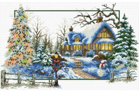 Рождество набор вышивки
