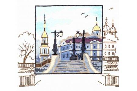 Вышивка крестом пейзажи петербурга