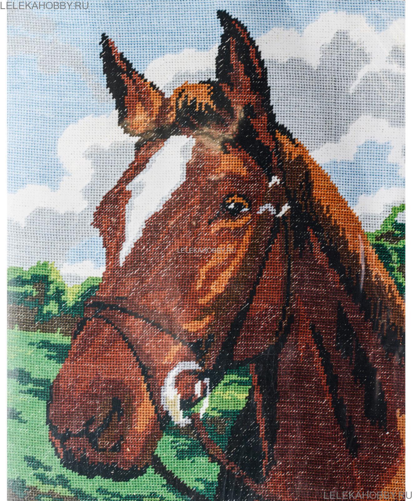Лошадь схема для вышивания 218
