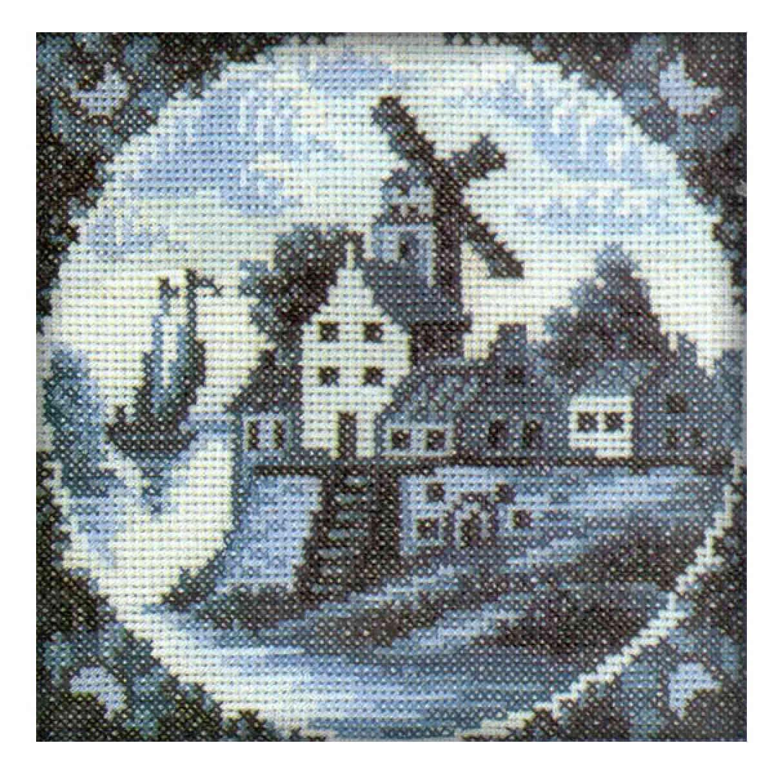 Схема вышивки крестом голландия 11