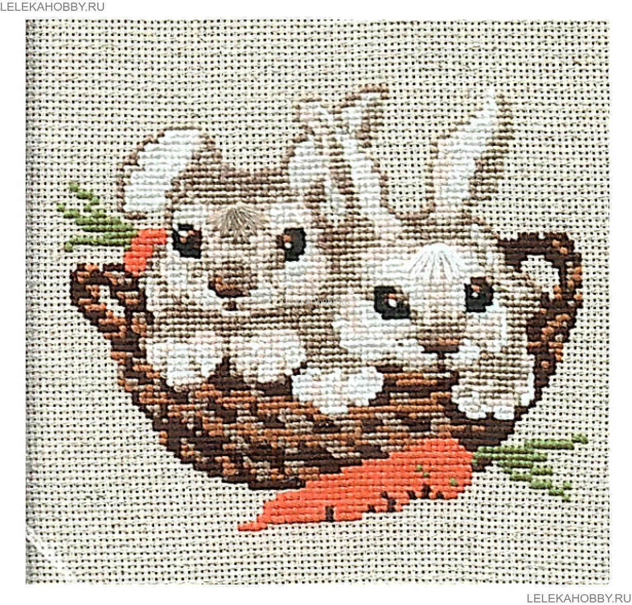 Наборы для вышивания зайчик