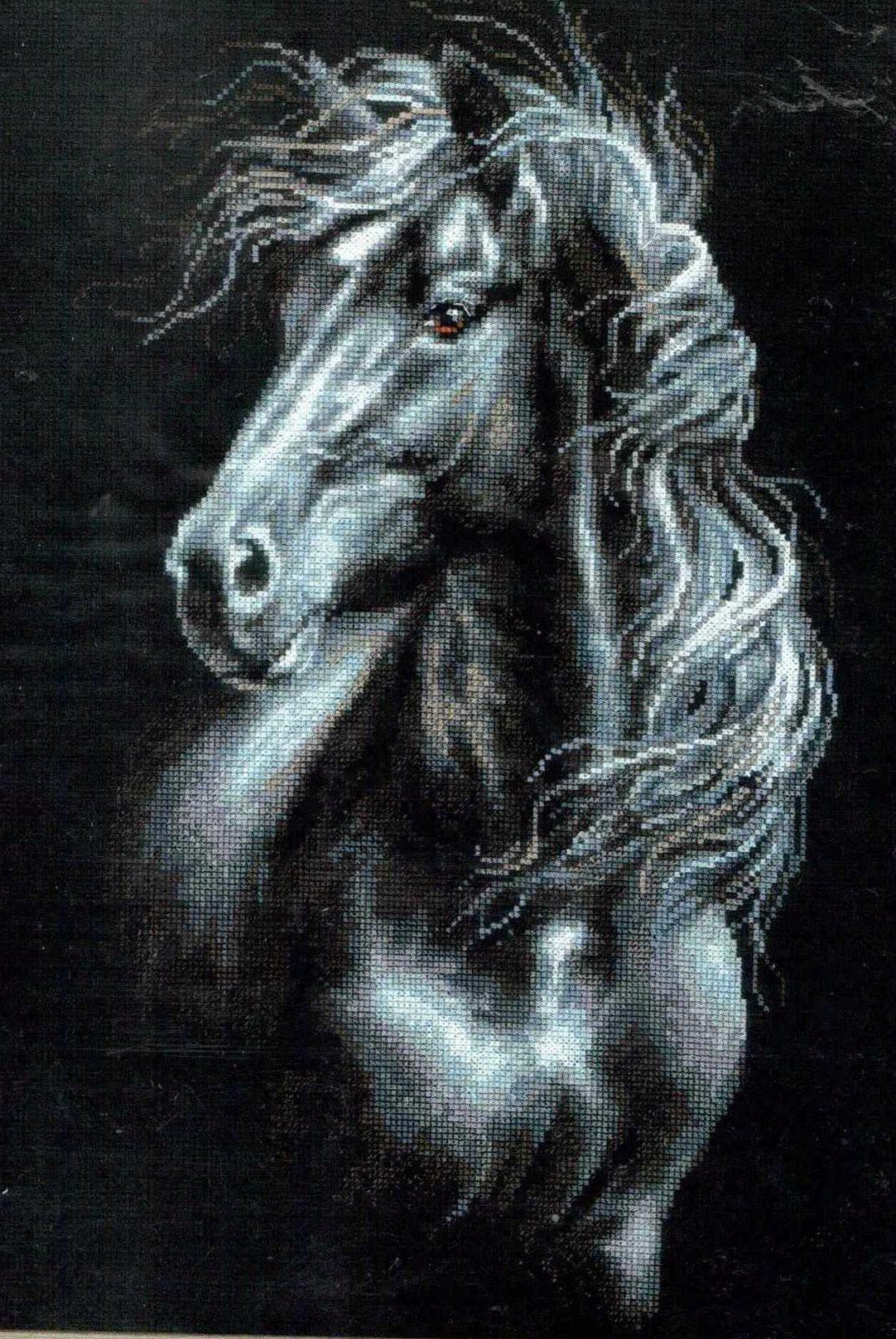 Купить вышивку бисером лошади в интернет-магазине с доставкой 70