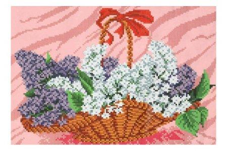Схемы для вышивки цветов сирени