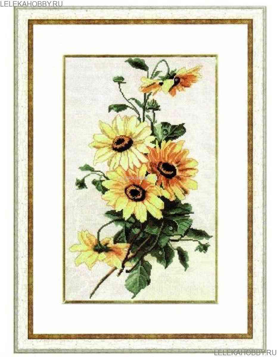 Золотое руно вышивка крестом цветы 31