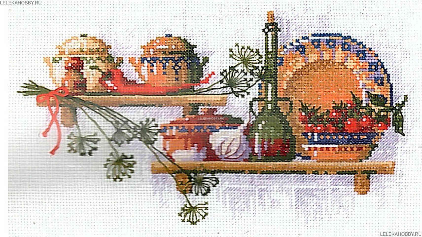 Вышивка риолис кухня