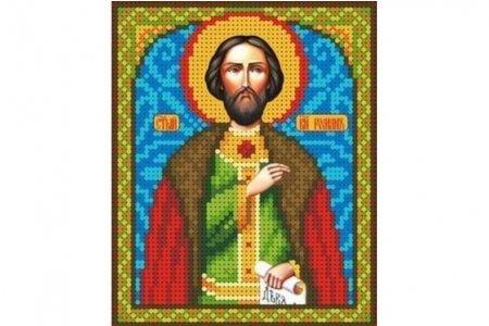 Шарбель святой вышивка бисером 33