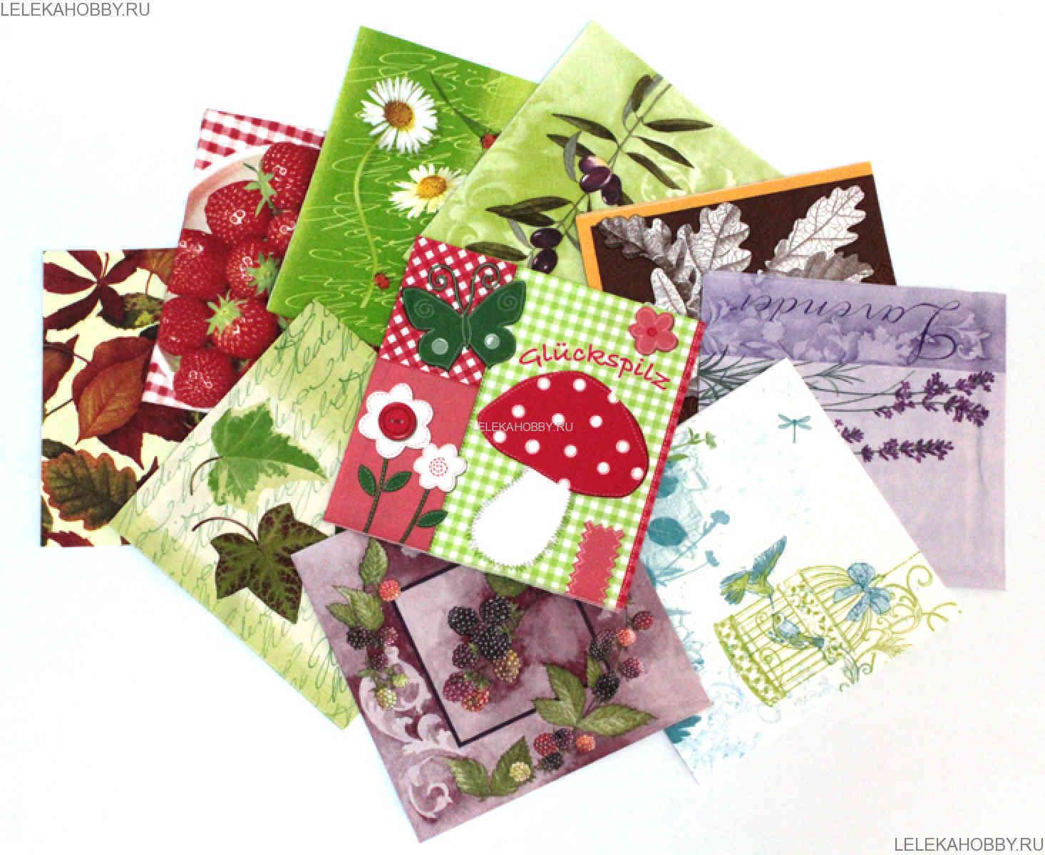 Картинки для декупажа почта
