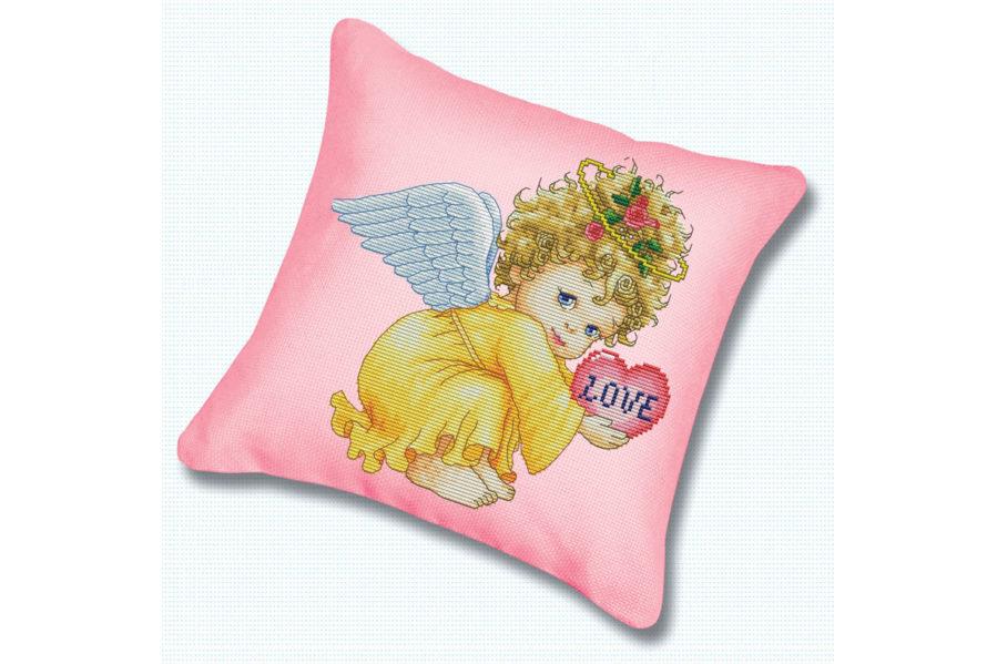 Маленький ангел вышивка