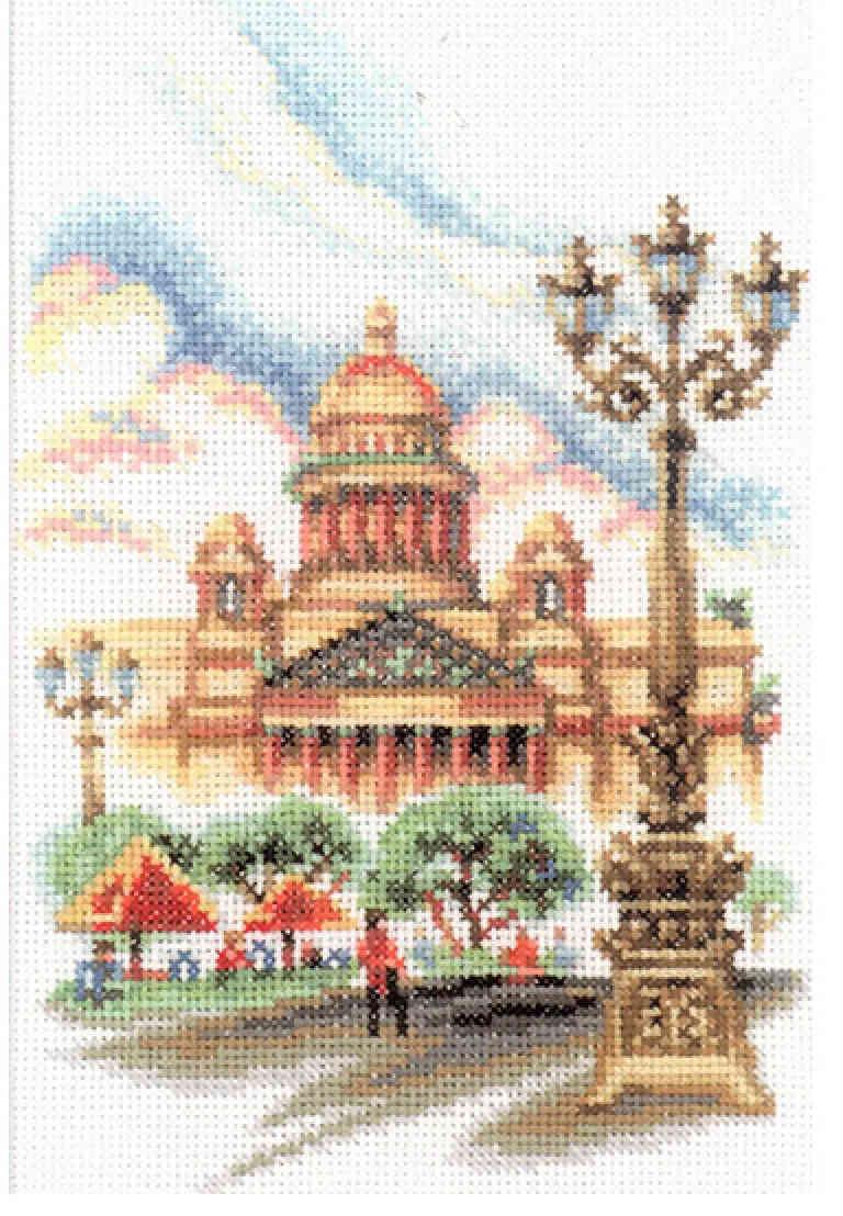 Вышивка крестом мосты питера бесплатно. - Вышиваем вместе 55