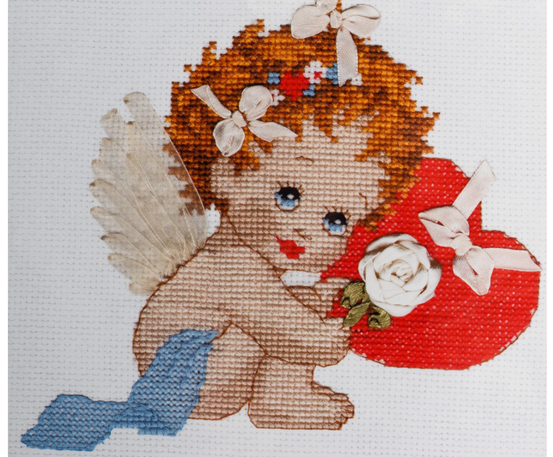 Наборы для вышивки ангелочки 83