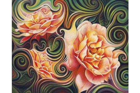 является картинки фантазийных цветов сразу подумали, что
