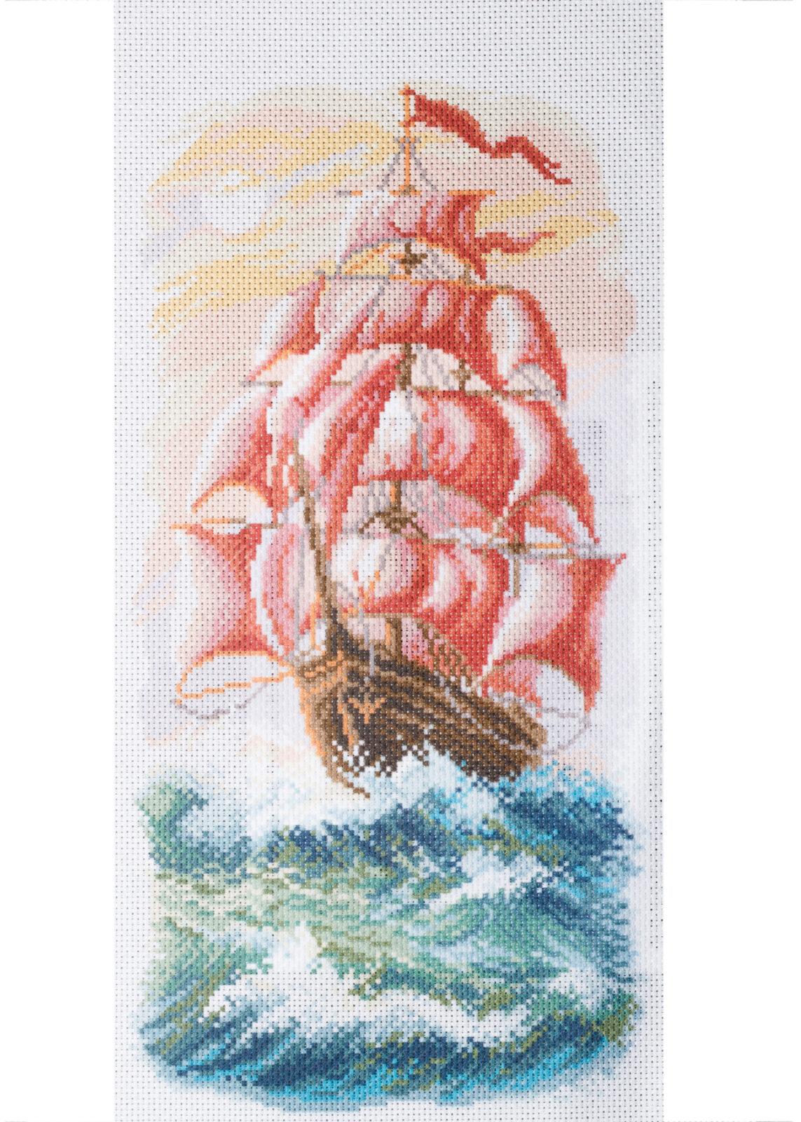 Матренин посад вышивка алые паруса