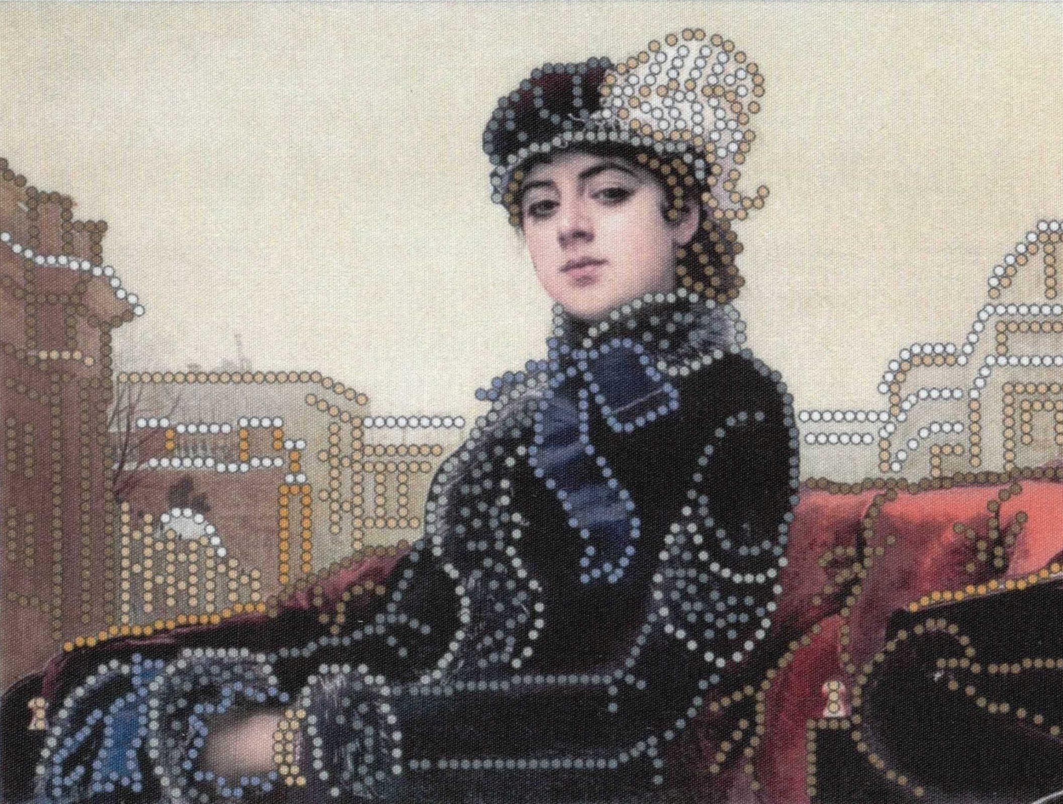 Вышивка Бисером Картины Незнакомка