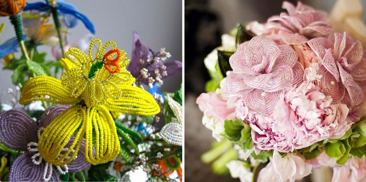 Цветы французские